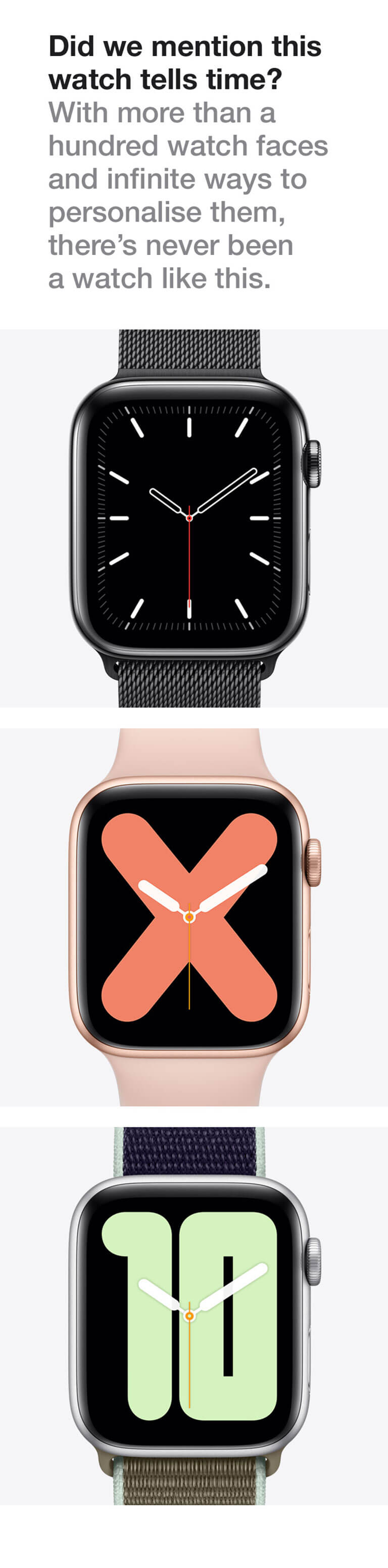 apple watch S5 Pre-Book