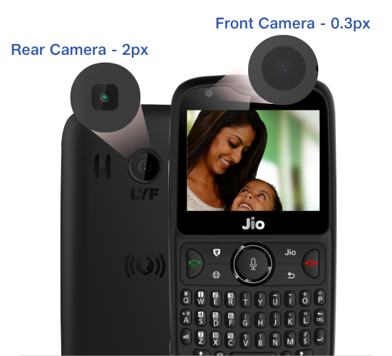 timeless design 8cbe2 400cb Jio Phone 2 - Buy 4G Feature Phone Online at Best Price in India