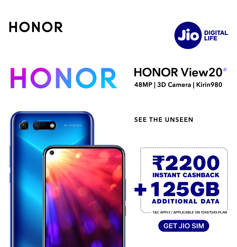 honor view20 offer