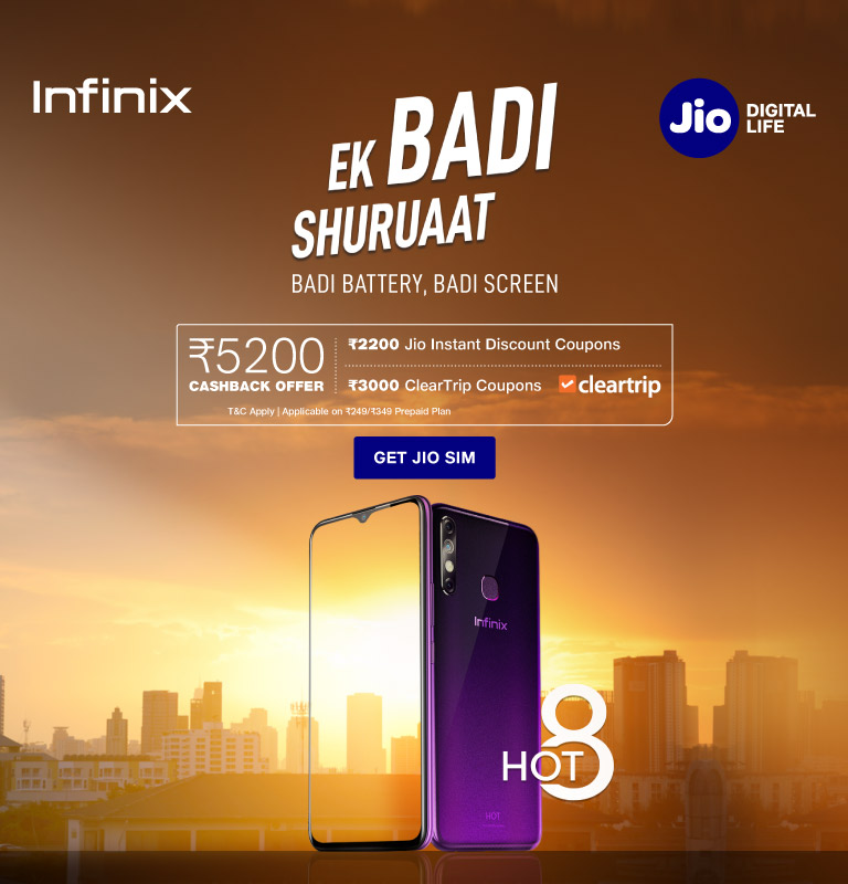 Infinix Hot 7 Pro Cashback Offer