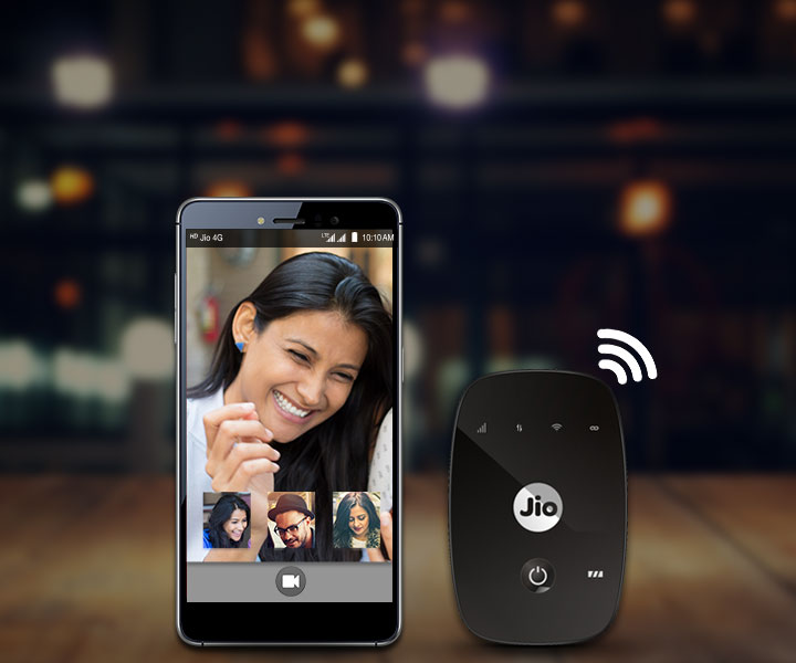 Jio 4GVoice App - JioFi and Jio4GVoice app, the perfect combo to enjoy True 4G speed