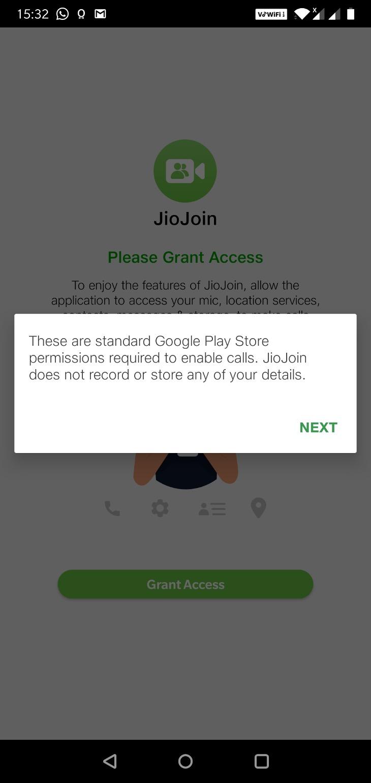 JioJoin-Grant Please Access