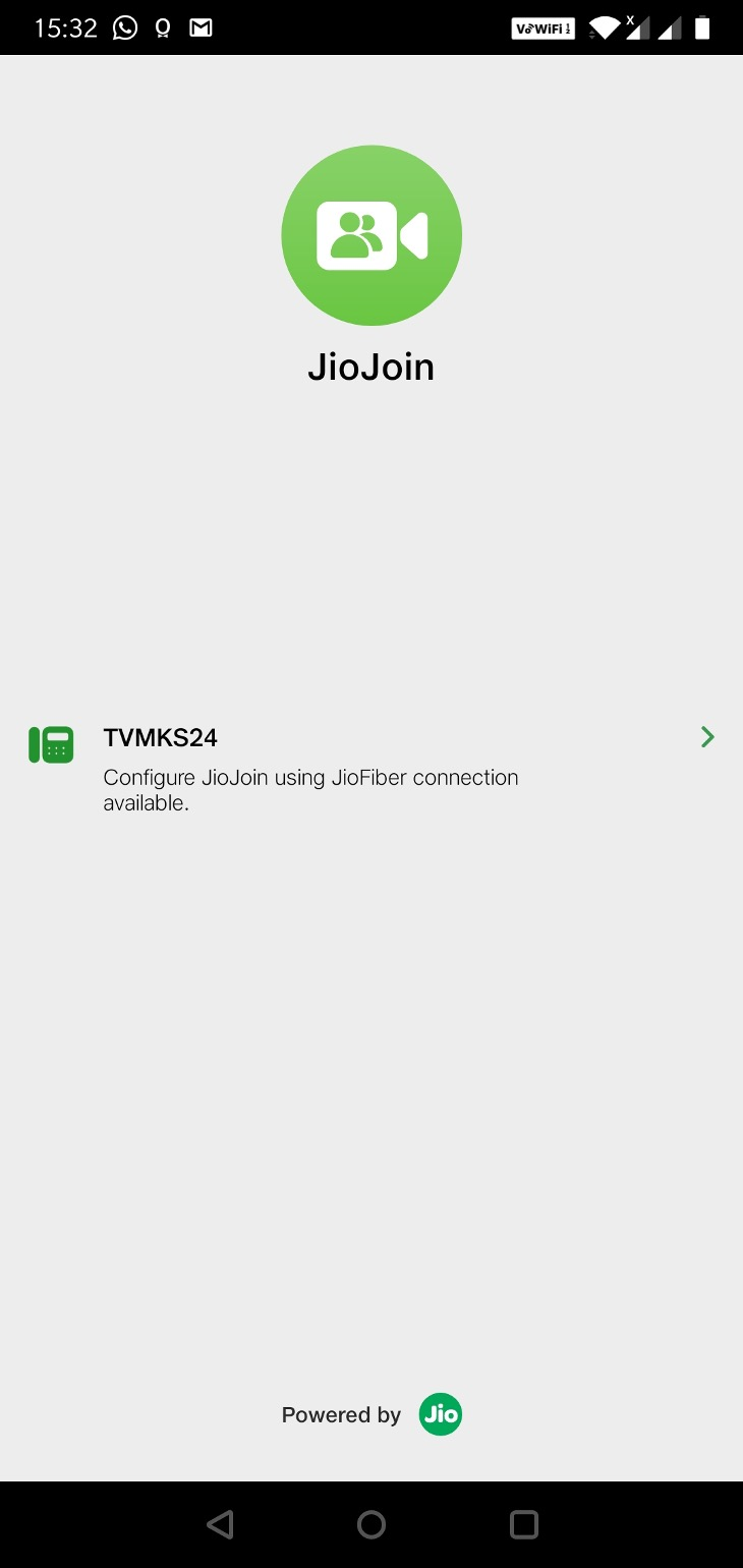 JioJoin-SSID to Register