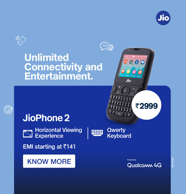 JioPhone2 Know More
