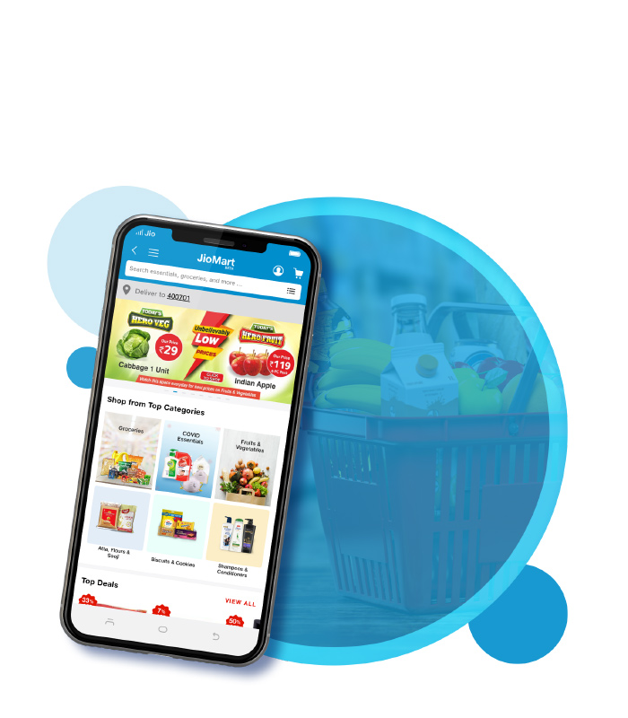 JioMart – Experience online grocery shopping like never before