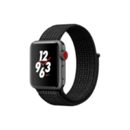 Apple Watch Nike+ (GPS + Cellular) 38mm SG AL CS with BL/P PL Sport Loop
