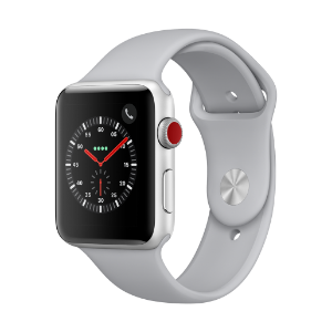 Apple Watch Series 3 (GPS + Cellular) 42mm S AL CS with Fog Sport Bnd