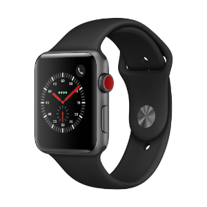 Apple Watch Series 3 (GPS + Cellular) 42mm SG AL CS with BL Sport Bnd