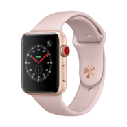 Apple Watch Series 3 (GPS + Cellular) 42mm GL AL CS with PS Sport Bnd