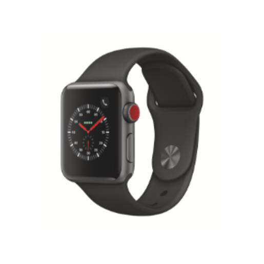 Apple Watch Series 3 (GPS + Cellular) 38mm SG AL CS with GR Sport Bnd