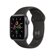 Apple Watch SE GPS 44mm SG AL BLK Sp Bd