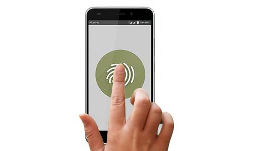 jio fingerprint app