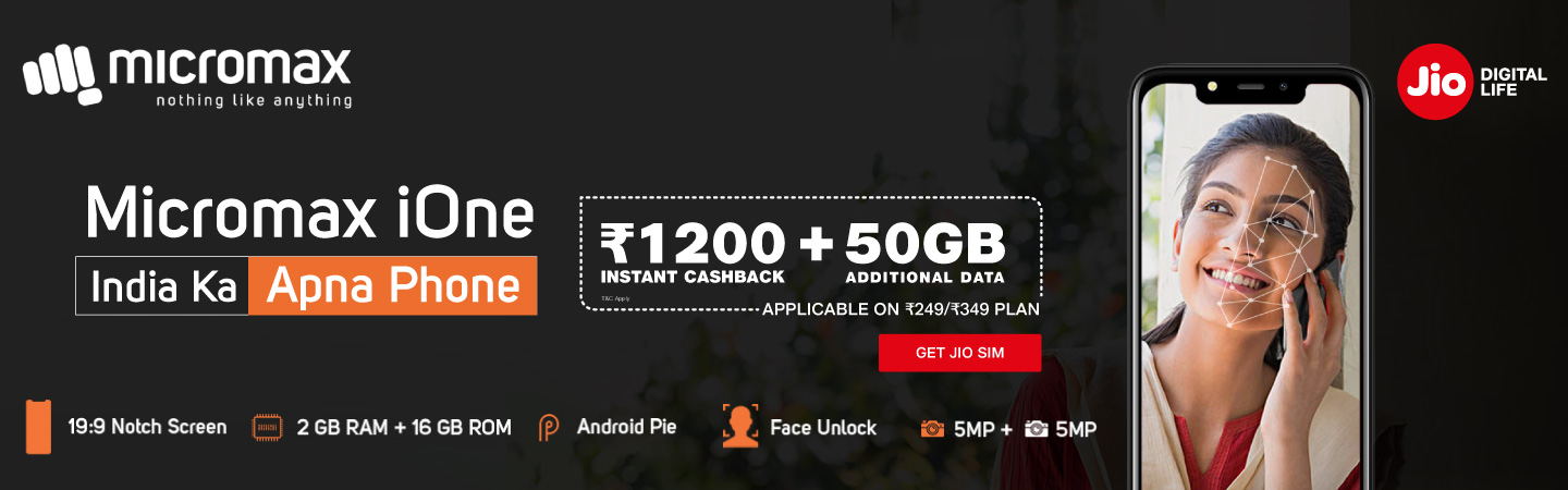 Micromax iOne Data Offer