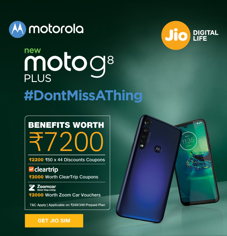Motorola G8 Plus Offer