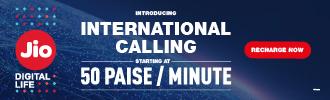 Jio ISD Prepaid Plans - International Calling Rates