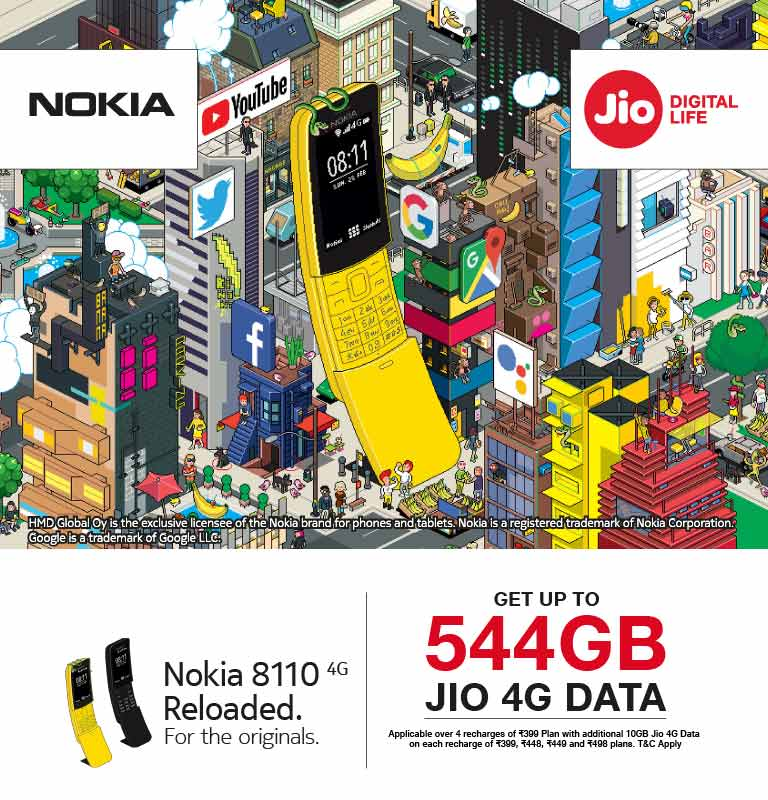 Nokia 8110 Data Offer