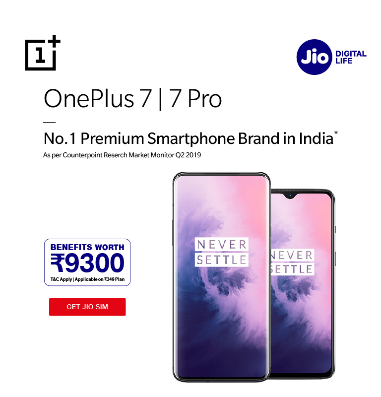 jio oneplus 6t offer