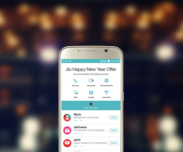 JioJoin - Express yourself with a Rich Call Background