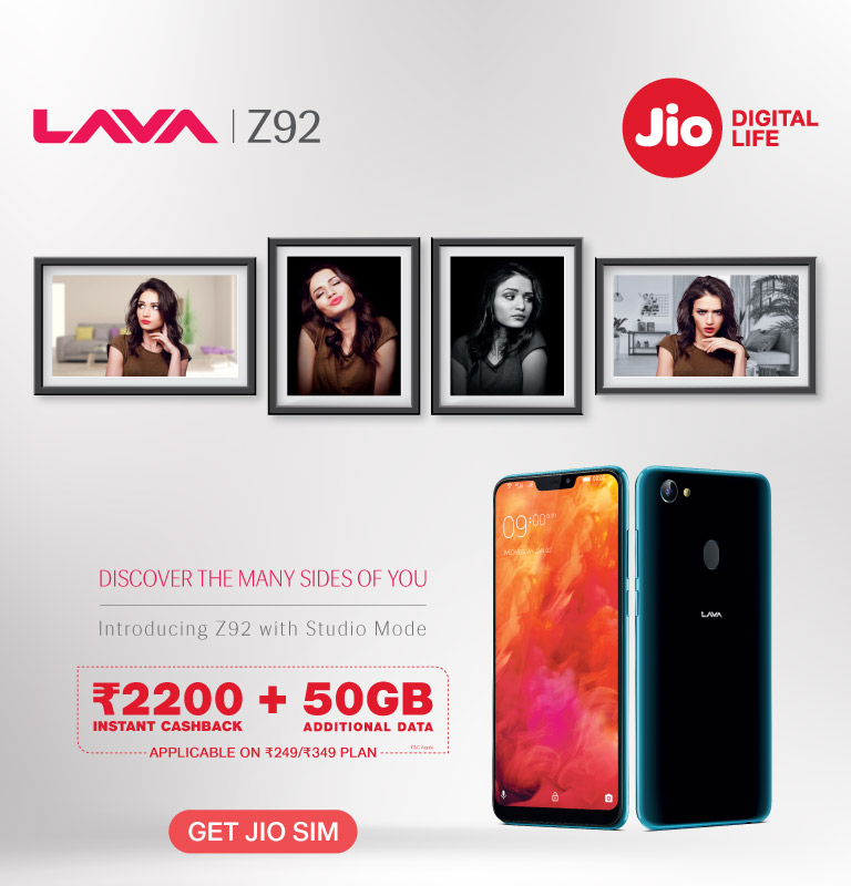 Lava Z92 Data Offer