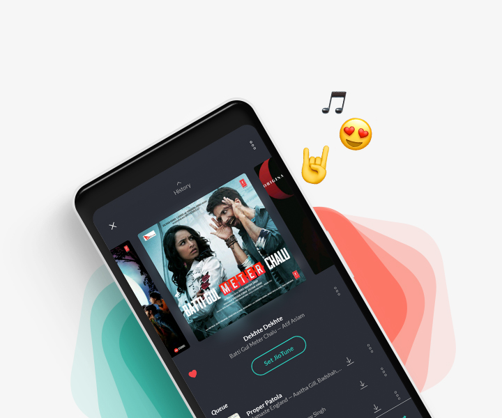 Set JioTunes with JioSaavn