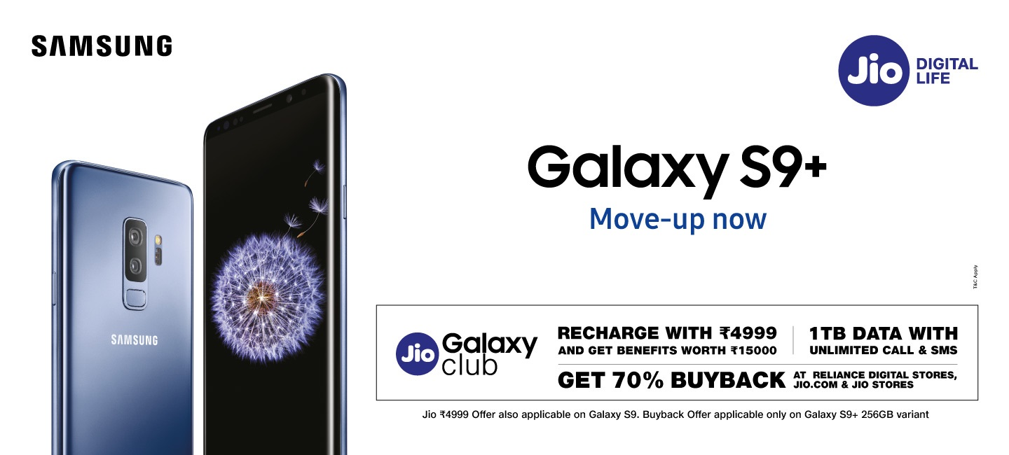 Buy Samsung Galaxy S9 and S9 Plus at Best Price in India Online