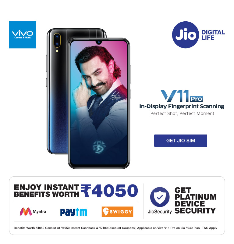 jio vivo v11 pro offer
